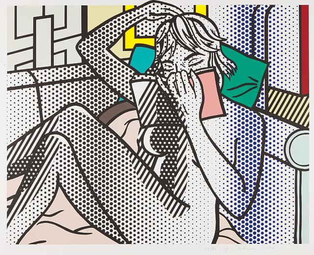 Roy Lichtenstein, 'Nude Reading', 1994, Upsilon Gallery