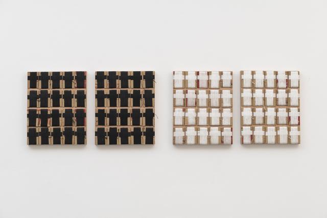 , 'White Suprematism/Black Suprematism,' 2016, Sabrina Amrani