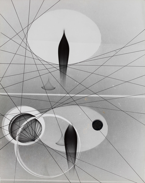, 'Untitled (Abstract, ovals, crossing lines),' 1940, Robert Koch Gallery