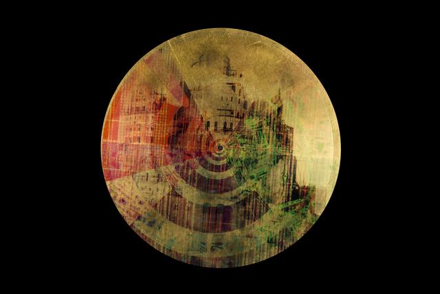 , 'Vinyl-Sound-Pictures,' 2016, museum in progress