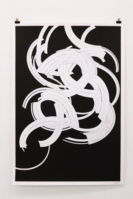 """, '""""Codes of Abstraction"""",' 2011, sc gallery"""