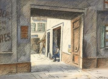 Untitled (Man in the Doorway)