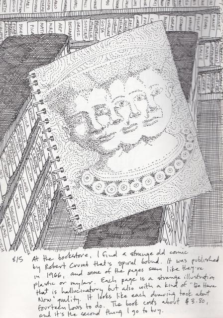 , 'R. Crumb Dream,' , John Molloy Gallery
