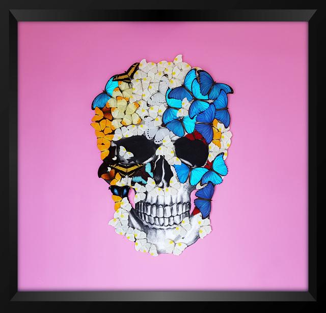 , 'Pink Skull,' 2018, Eden Fine Art