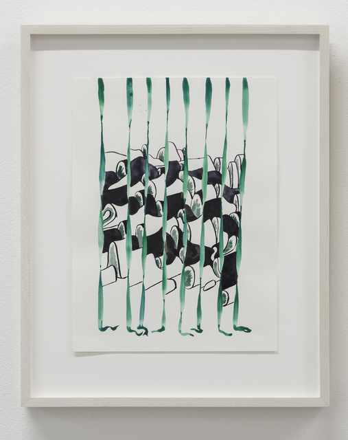 , 'viridian,' 2017, Susan Hobbs Gallery