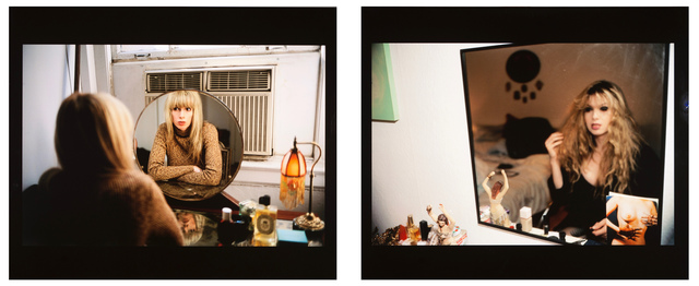 , 'Joey in my mirror, Berlin 1992 / Joey in my vanity mirror, NYC 1999,' , Galleria Pack