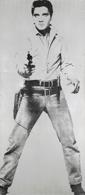 , 'Elvis,' 1963, National Gallery of Victoria