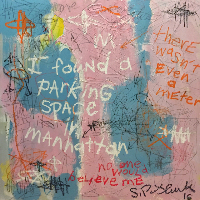 , 'I Found a Parking Space in Manhattan,' 2016, Cavalier Galleries