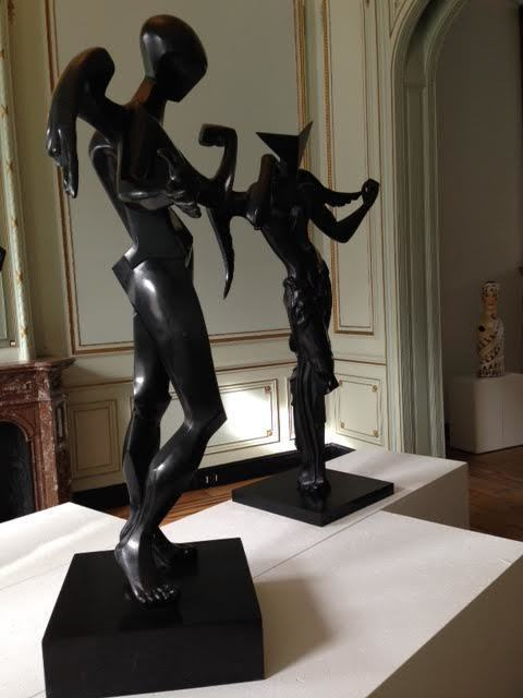 Salvador Dalí, 'Surrealist Angel & Cubist Angel', 1983, Sculpture, Bronze, Robin Rile Fine Art