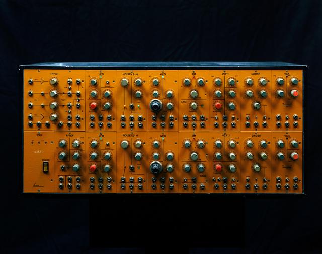 , 'DAS IMAGINÄRE STUDIO II (Synthesizer AMS3, Studio für Elektroakustische Musik, Akademie der Künste Berlin),' 2017, Galerie Wilma Tolksdorf