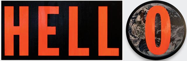 , 'Hell O,' 2019, V1 Gallery