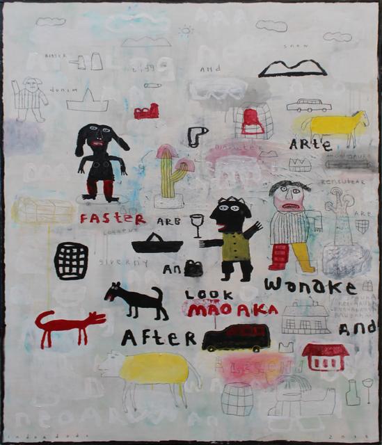 Indra Dodi, 'Victory Text no. 2', 2018, Nockart Gallery