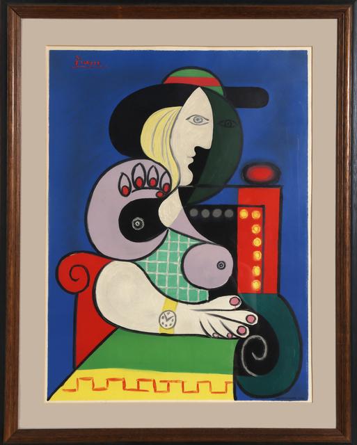 Pablo Picasso, 'Femme a la Montre', ca. 1967, RoGallery