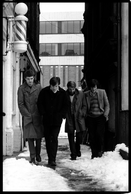 Kevin Cummins, '6.Joy Division, Cathedral Yard, Manchester 6 January 1979 ', 2006, Paul Stolper Gallery