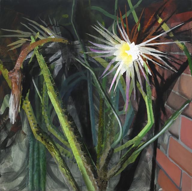 , 'Königin der Nacht,' 2017, Galerie Kleindienst