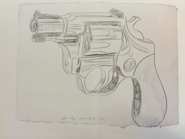 , 'Gun,' 1981, Mirat Projects