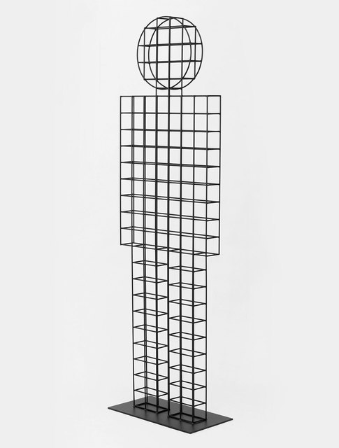 , 'Uncertain Surface (standing man),' 2014, Patrick Parrish Gallery