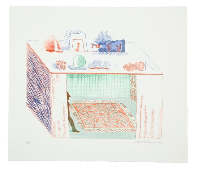 David Hockney, 'In a Chiaroscuro (M.C.A. Tokyo 186)', 1976-77, Forum Auctions