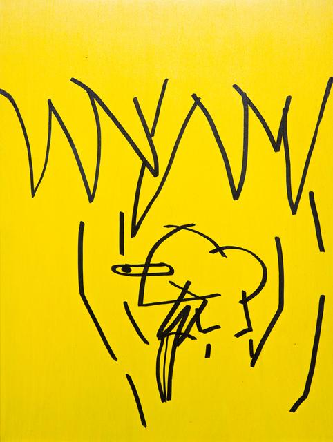 , 'Yellow 10,' 2018, ABXY