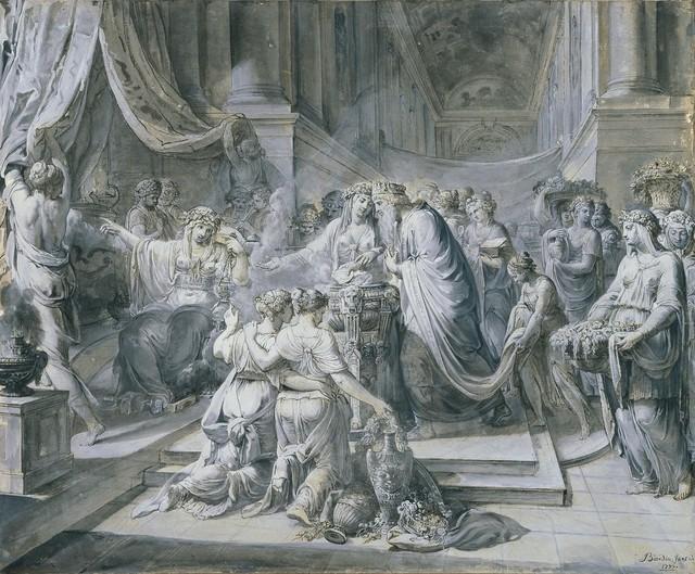 , 'Solomon's Idolatry,' 1777, Didier Aaron