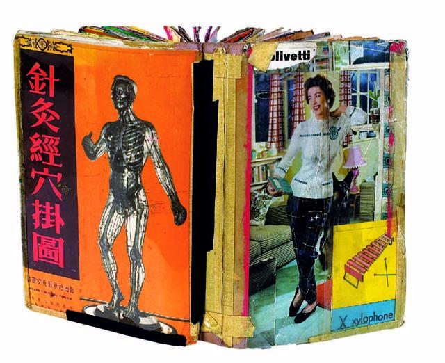 , 'Scrapbook #13 (detail),' 1980, New Museum