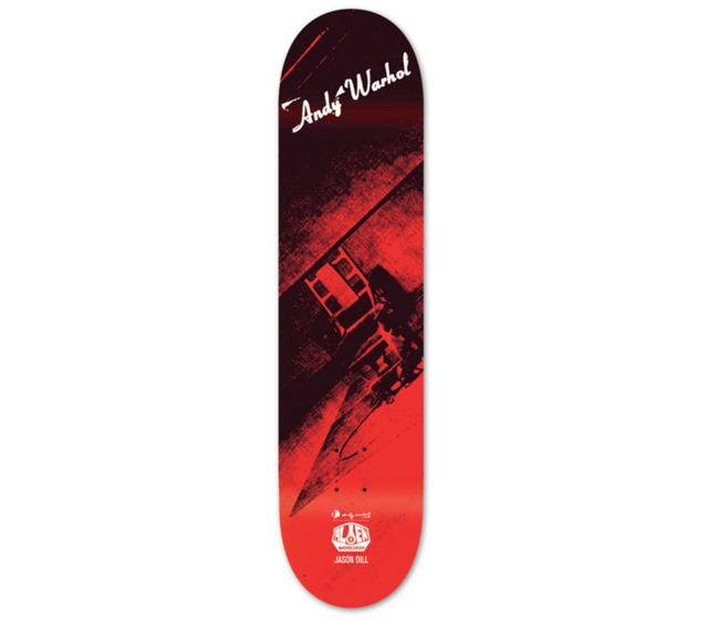 Andy Warhol, 'Andy Warhol Electric Chair Skateboard Deck (New)', 2010, Lot 180