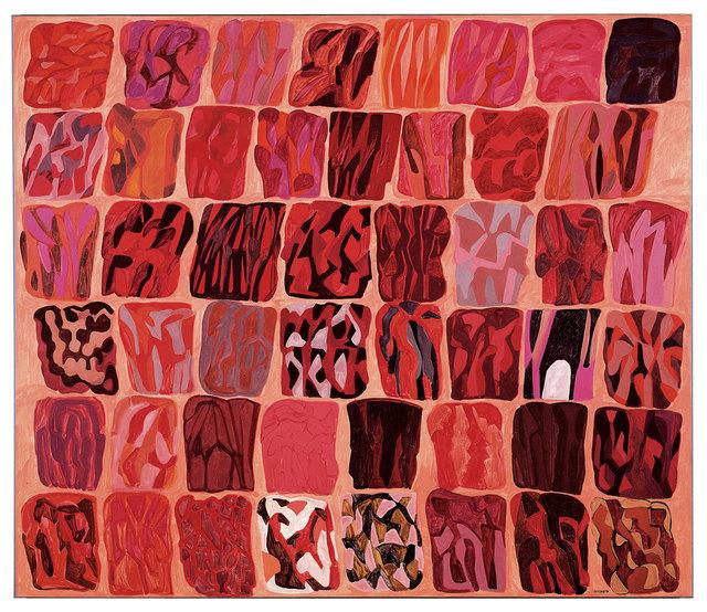 , 'Fondo rosa (Quarantotto immagini),' 1984, Robilant + Voena