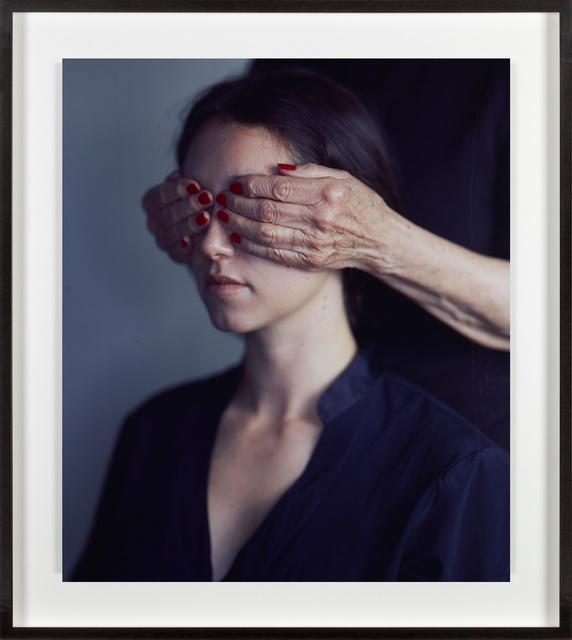 , 'Nancy with Kitty's hands,' 2016, Fraenkel Gallery