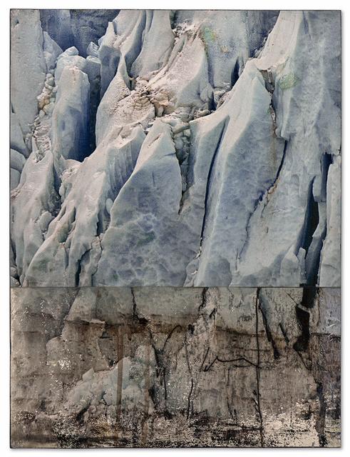 , 'Glacier, Halved,' 2016, Miller Yezerski Gallery