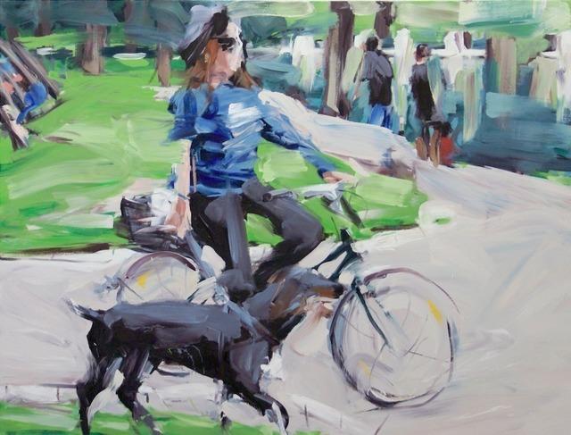 , 'Aachener Weiher II,' 2014, Gallery Kampl
