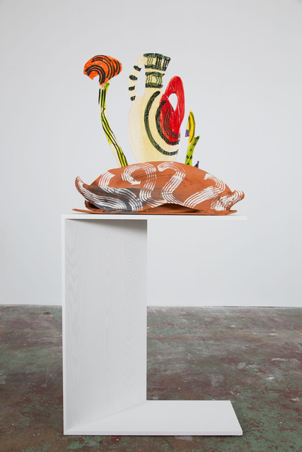 , 'Amphora and Garden,' 2012-2013, Nina Johnson