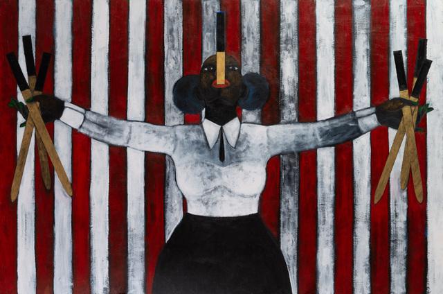 Abe Odedina, 'Mum's The Word', 2019, Ed Cross Fine Art