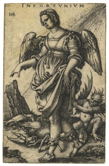 , 'Infortunium – Misfortune,' 1541, C. G. Boerner