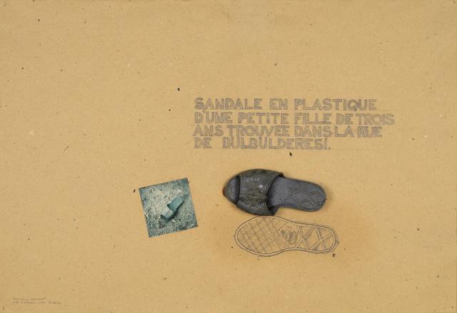 """, '""""HABITATION PROVISOIRES"""",' 1974, Galerie Hubert Winter"""