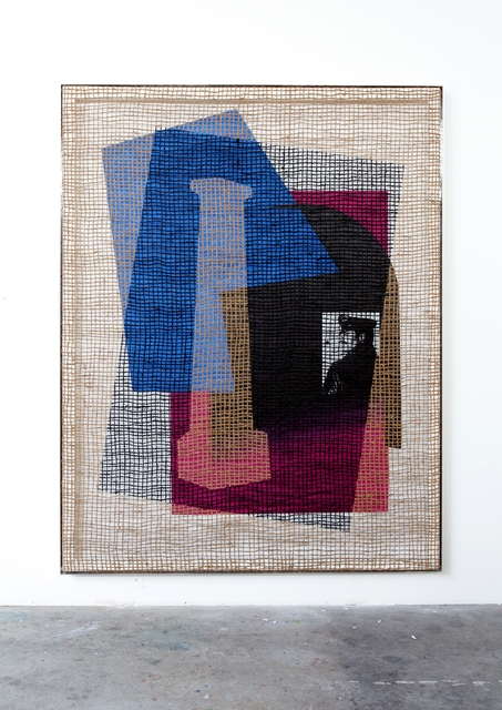 ", '""Floorplan Desire Painting"",' 2015, Wentrup"