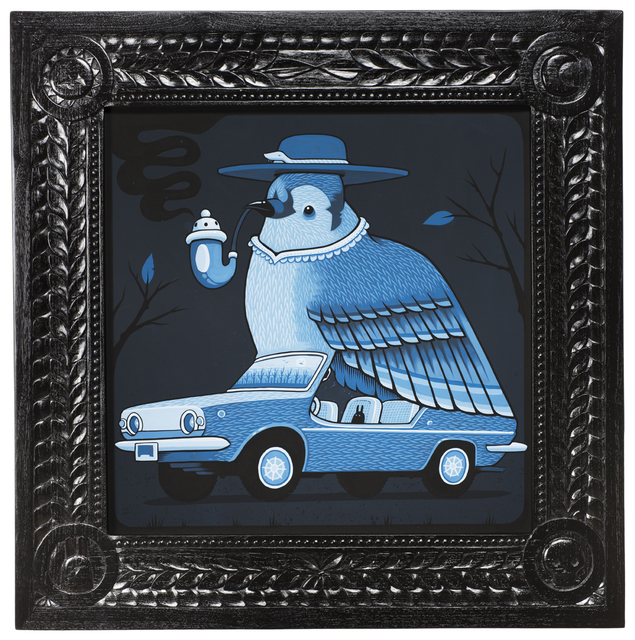 , '1970 Fiat Bluebird,' 2017, Jonathan LeVine Projects