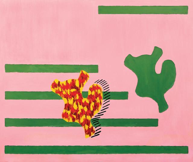 Jonathan Lasker, 'RETURN THE FAVOR', 1986, Cheim & Read