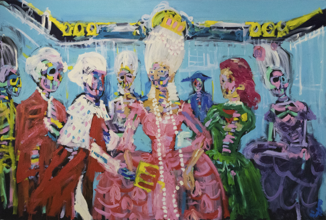 , 'Queen of Versailles ,' 2018, Maddox Gallery
