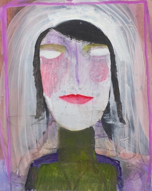 , 'Untitled (portrait),' 2014, Waldburger Wouters