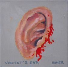 Jessie Homer French, 'Vincent's Ear', 2005, VARIOUS SMALL FIRES