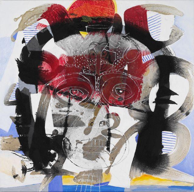 , 'König der Kelche,' 2013, GALERIE BENJAMIN ECK