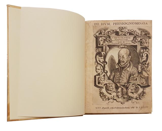 Giovan Battista Della Porta, 'De Humana Physiognomonia', 1586, Wallector