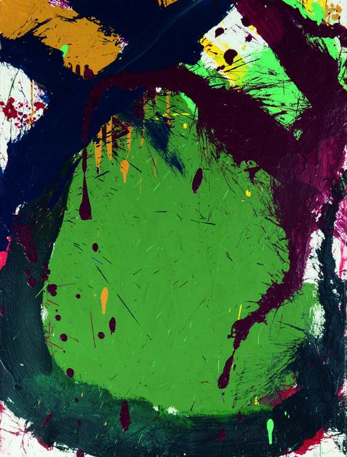 , 'Composition in green,' 1967, Waterhouse & Dodd