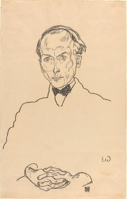 Egon Schiele, 'Dr. Ernst Wagner', 1918, National Gallery of Art, Washington, D.C.