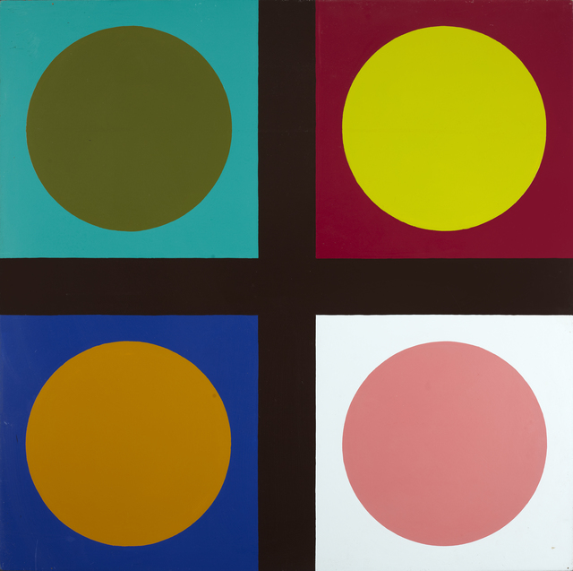 , 'Untitled ( tic tac toe painting),' 1967, Galleri Bo Bjerggaard