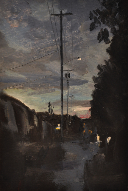 , 'Night Boulevard, Palo Alto,' 2010, Main Street Arts