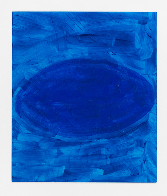 , 'Oval (blue),' 2013, David Kordansky Gallery