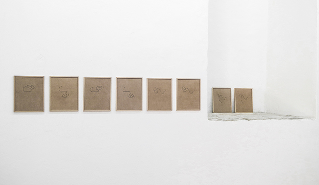 , 'Desde la curva cerrada,' 2017, Galleria Macca