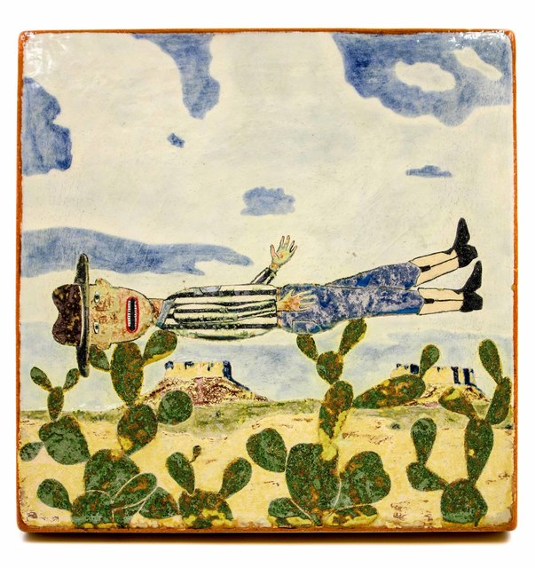, 'Fell Into Cactus,' 2018, form & concept