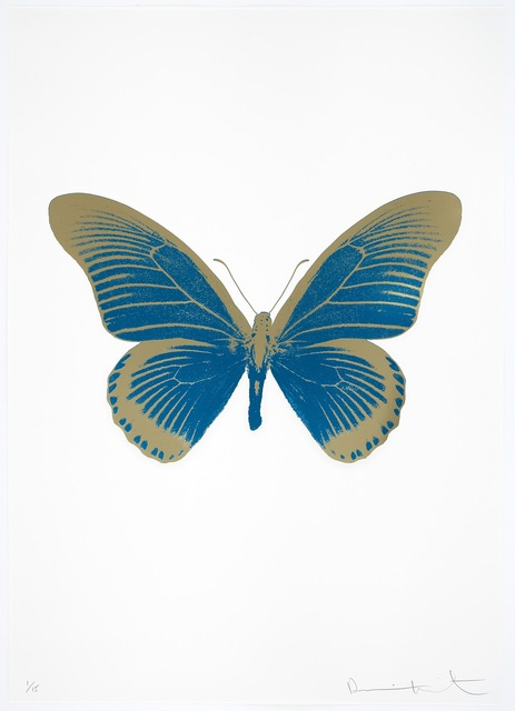 , 'The Souls IV - Turquoise/Cool Gold,' 2010, Paul Stolper Gallery